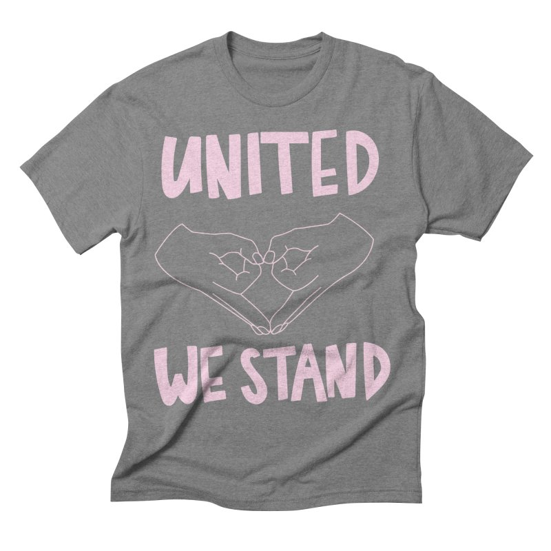 United We Stand (Women's Rights) Men's Triblend T-shirt by bsemibold's Artist Shop