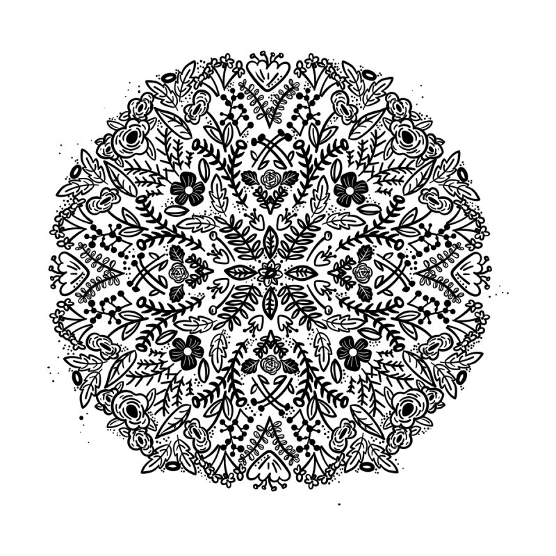 Radial Floral by bsemibold's Artist Shop