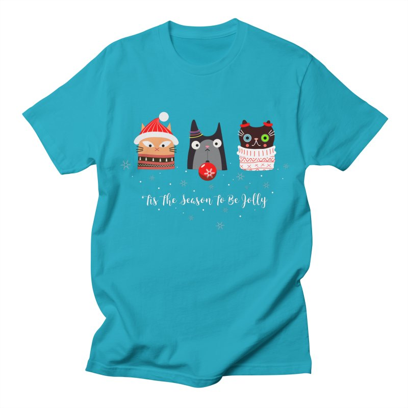 'Tis the season to be jolly... Women's Unisex T-Shirt by Shop to help cats