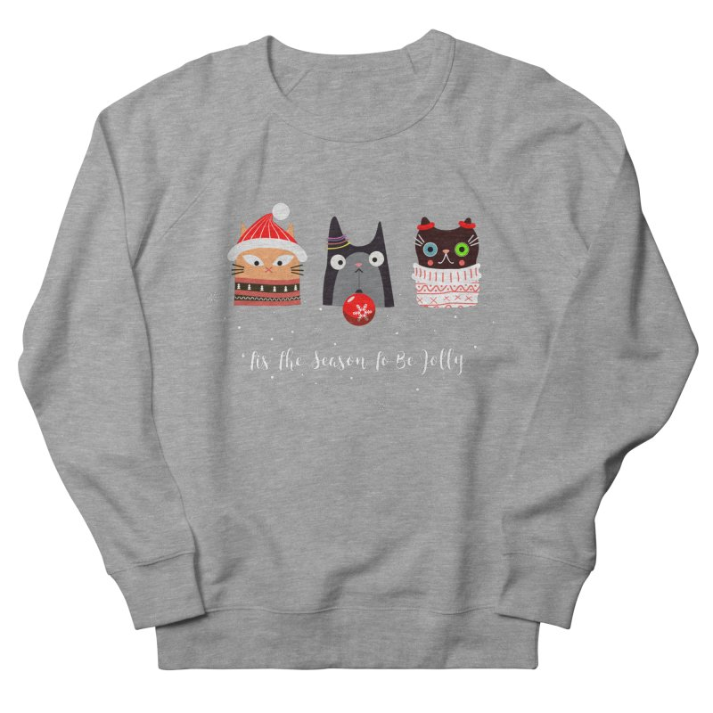 'Tis the season to be jolly... Men's Sweatshirt by Shop to help cats