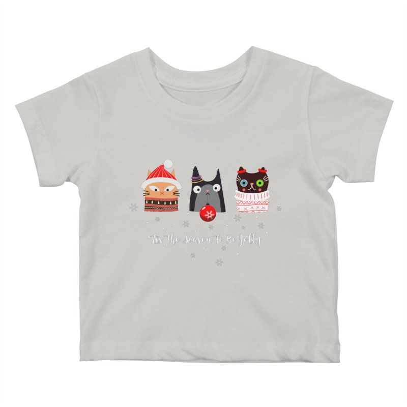 'Tis the season to be jolly... Kids Baby T-Shirt by Shop to help cats