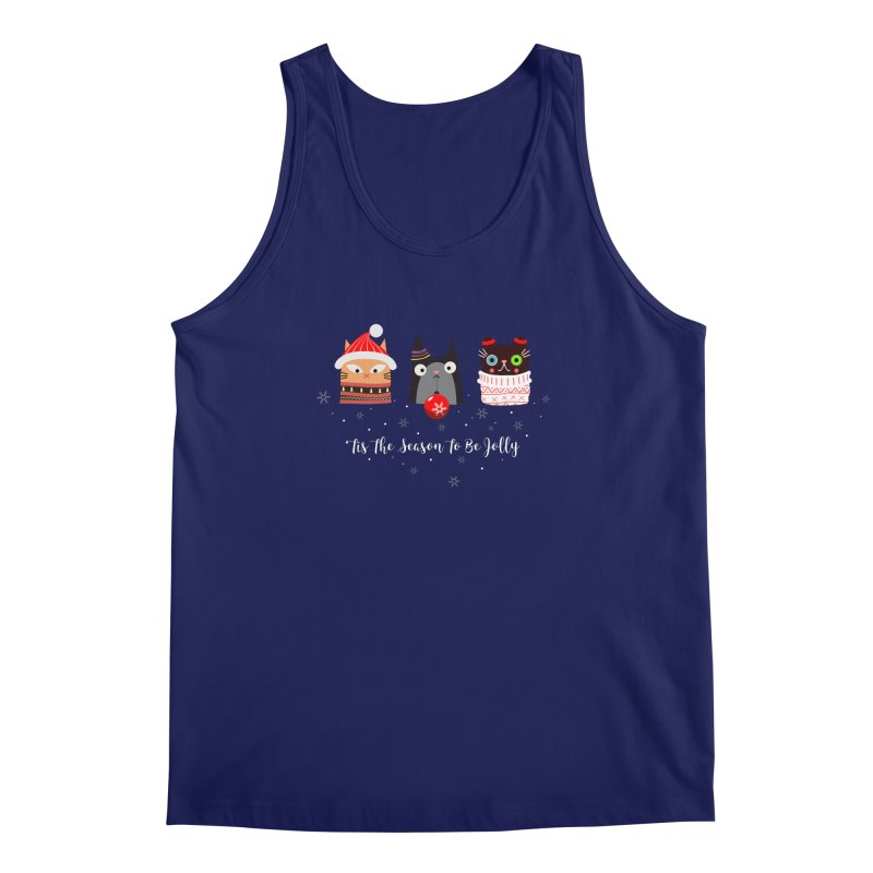 'Tis the season to be jolly... Men's Regular Tank by Shop to help cats