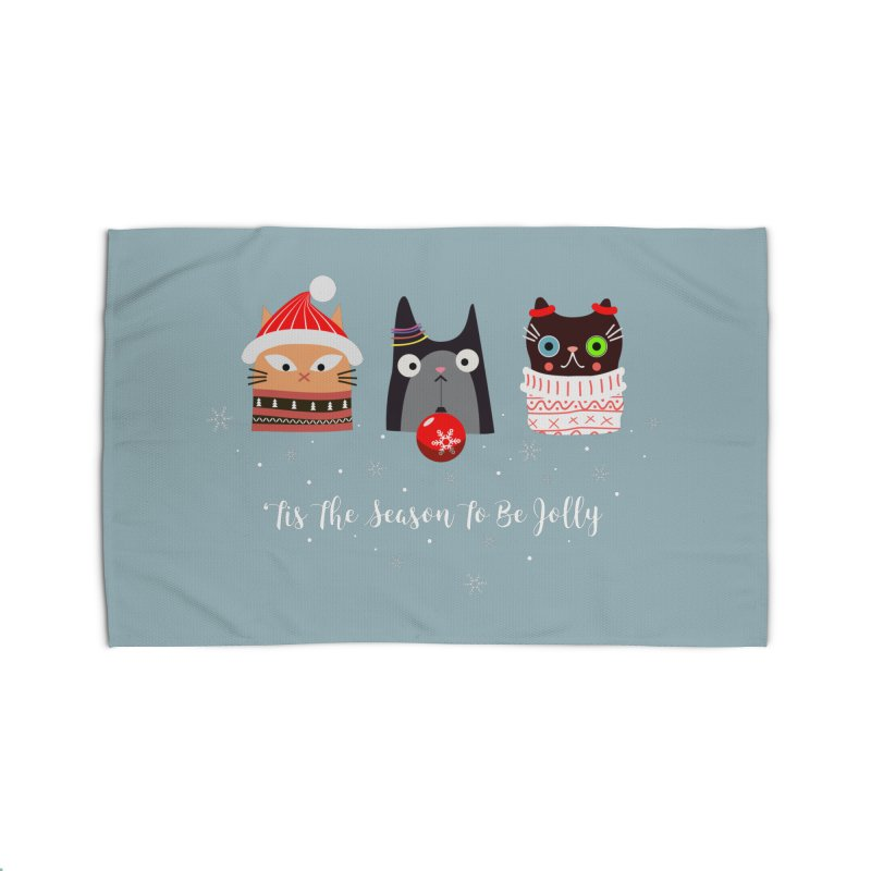 'Tis the season to be jolly... Home Rug by Shop to help cats