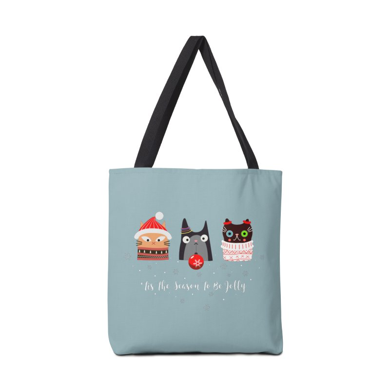 'Tis the season to be jolly... Accessories Tote Bag Bag by Shop to help cats