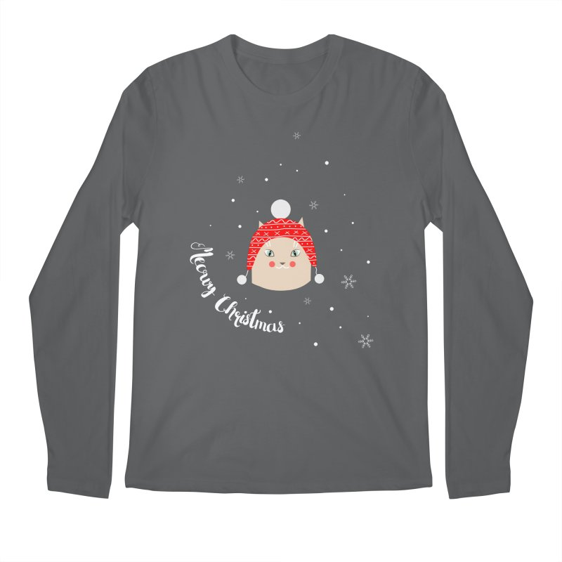 Meowy Christmas! Men's Longsleeve T-Shirt by Shop to help cats