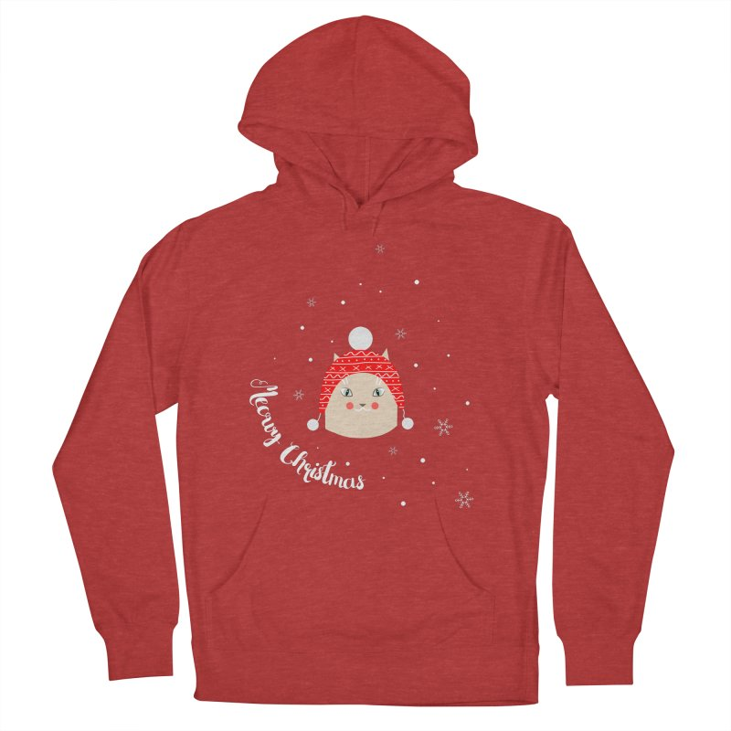 Meowy Christmas! Men's Pullover Hoody by Shop to help cats