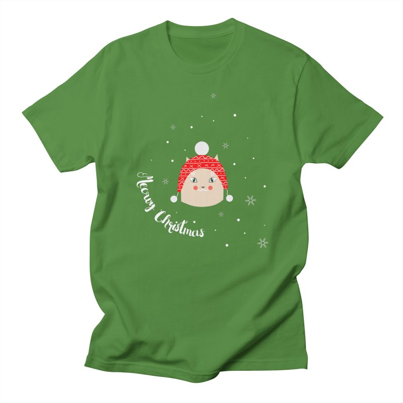Meowy Christmas! Women's Unisex T-Shirt by Shop to help cats