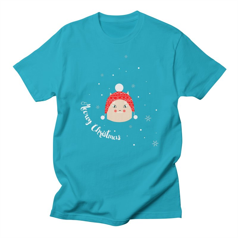 Meowy Christmas! Women's Regular Unisex T-Shirt by Shop to help cats