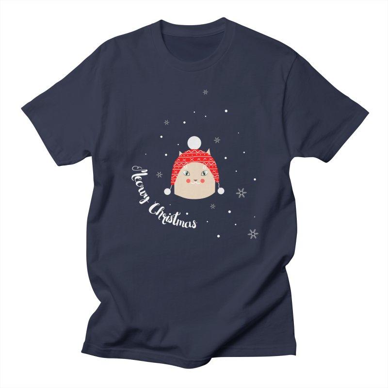 Meowy Christmas! Women's Regular Unisex T-Shirt by Shop to help cats