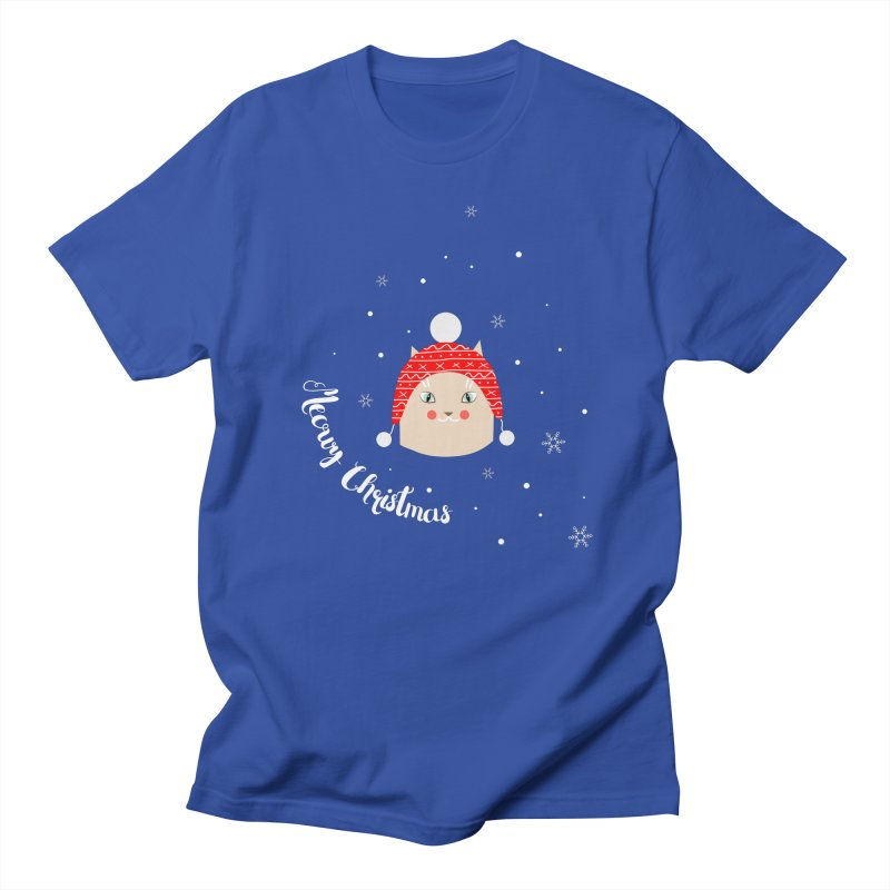 Meowy Christmas! Men's Regular T-Shirt by Shop to help cats