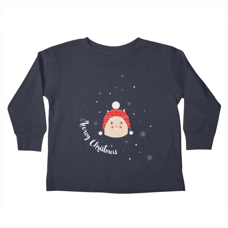 Meowy Christmas! Kids Toddler Longsleeve T-Shirt by Shop to help cats