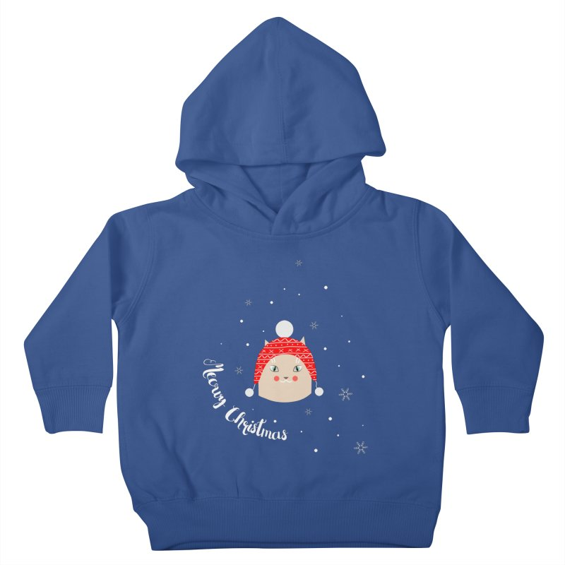 Meowy Christmas! Kids Toddler Pullover Hoody by Shop to help cats