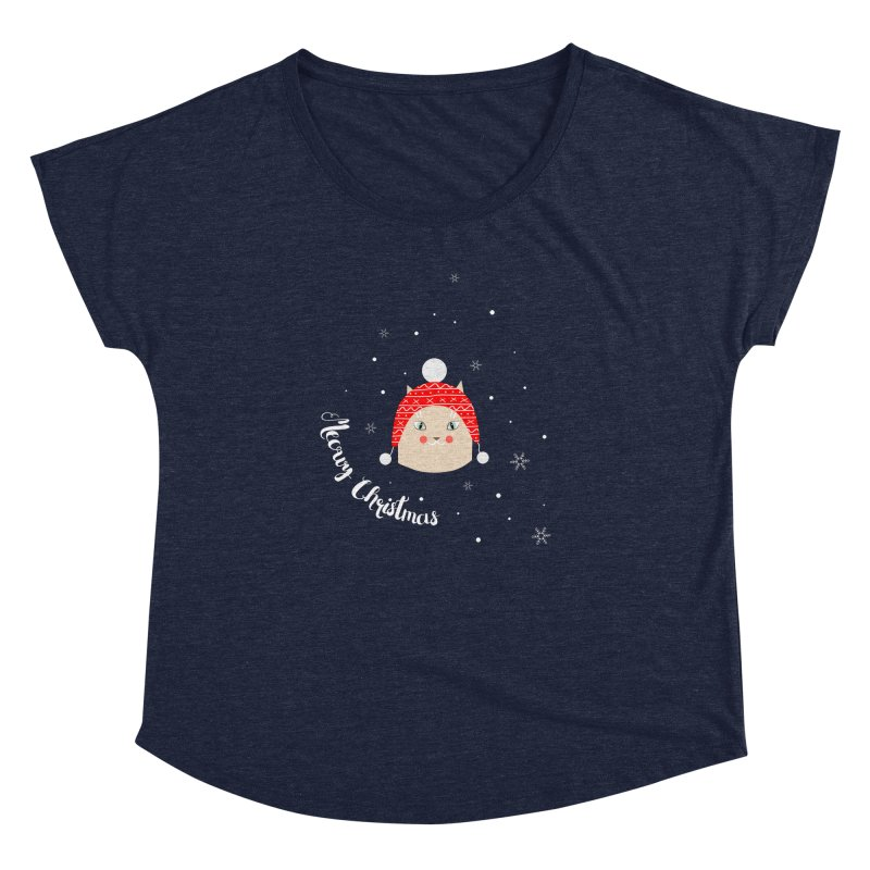Meowy Christmas! Women's Dolman Scoop Neck by Shop to help cats