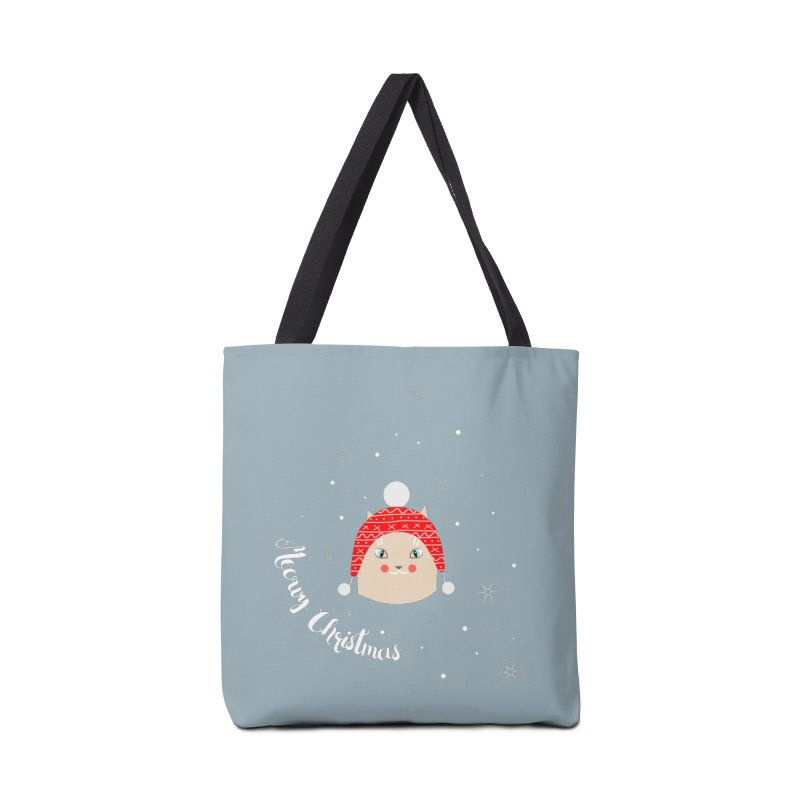 Meowy Christmas! Accessories Tote Bag Bag by Shop to help cats