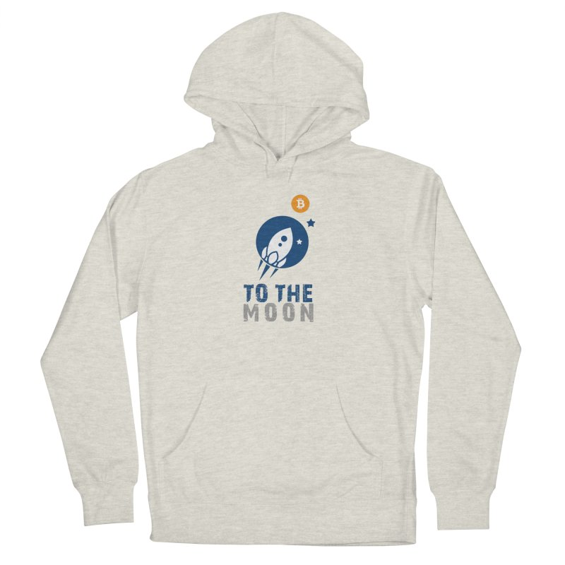 Bitcoin To The Moon Women's Pullover Hoody by Shop to help cats