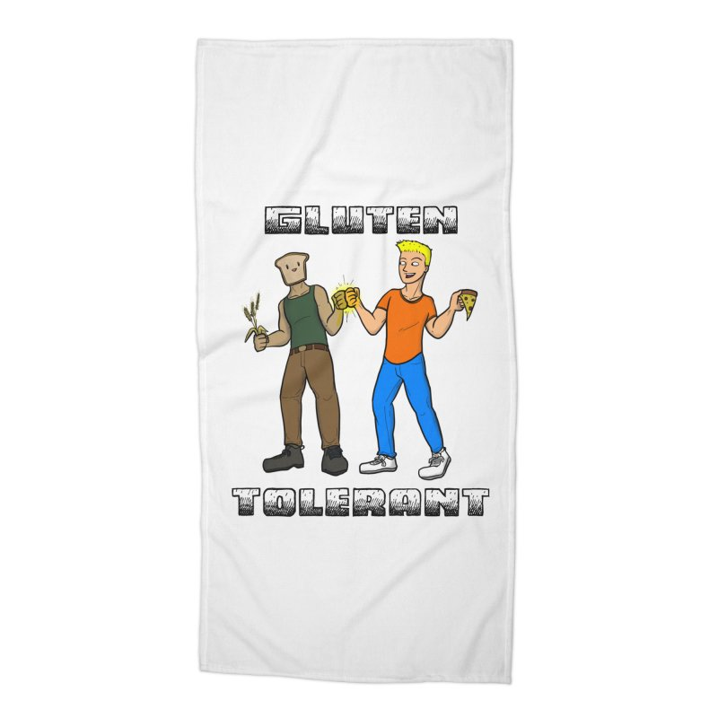 Can't we all just get along? Accessories Beach Towel by Bigger Than Cheeses