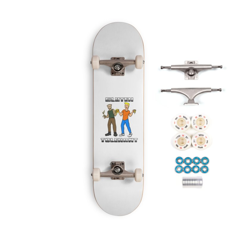 Can't we all just get along? Accessories Skateboard by Bigger Than Cheeses