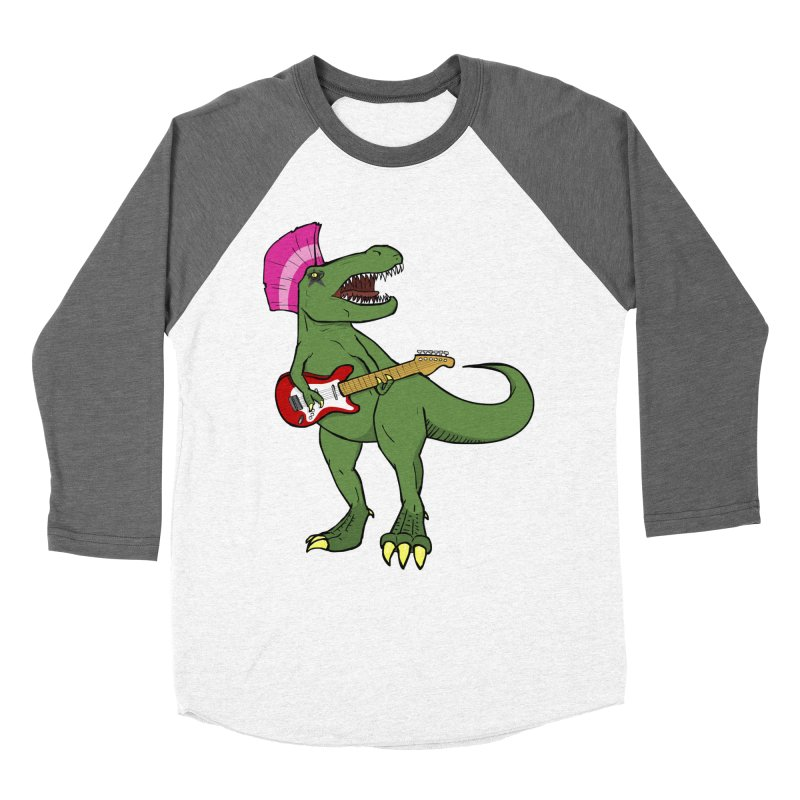 Tyrant Lizard Women's Longsleeve T-Shirt by Bigger Than Cheeses