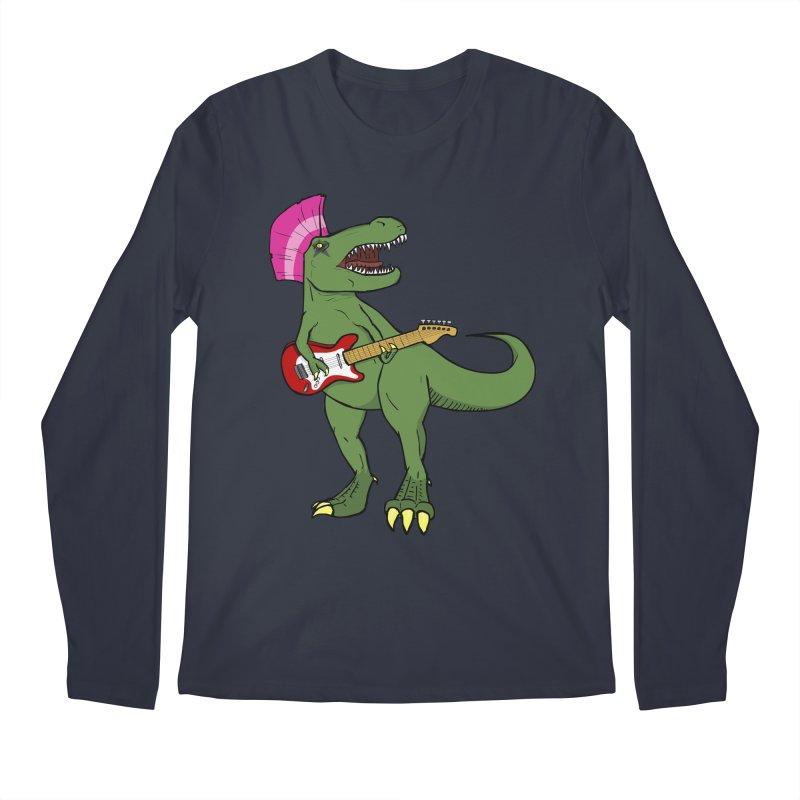 Tyrant Lizard Men's Longsleeve T-Shirt by Bigger Than Cheeses