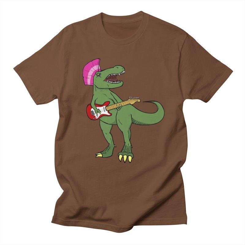 Tyrant Lizard Men's Regular T-Shirt by Bigger Than Cheeses