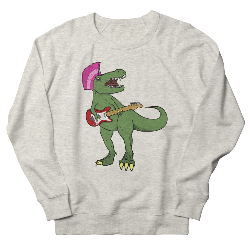 Tyrant Lizard Women's French Terry Sweatshirt by Bigger Than Cheeses