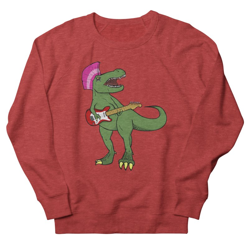 Tyrant Lizard Men's French Terry Sweatshirt by Bigger Than Cheeses