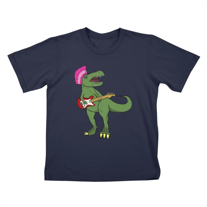 Tyrant Lizard Kids T-shirt by Bigger Than Cheeses