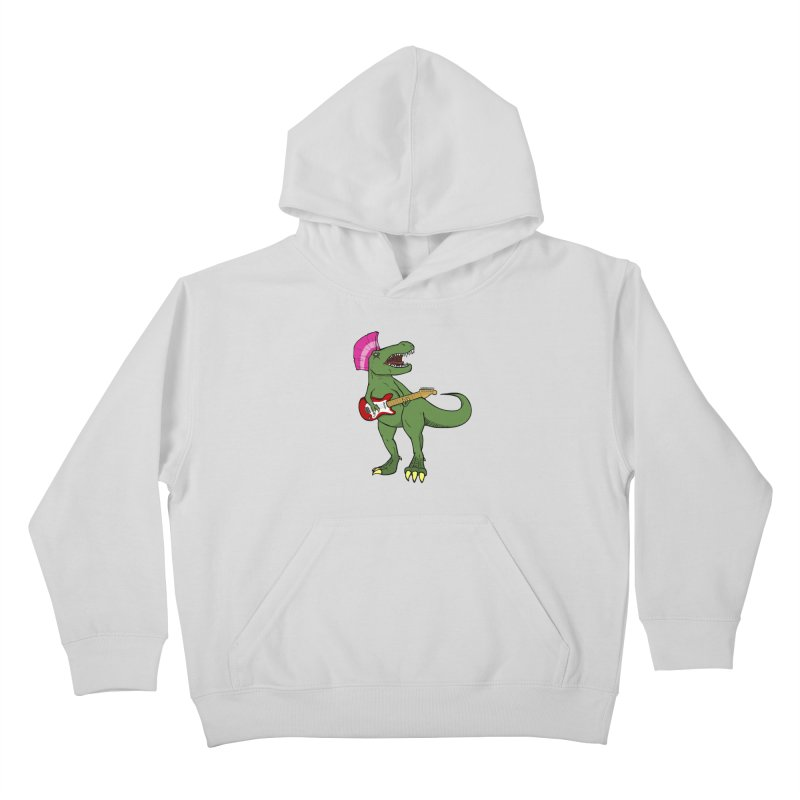 Tyrant Lizard Kids Pullover Hoody by Bigger Than Cheeses