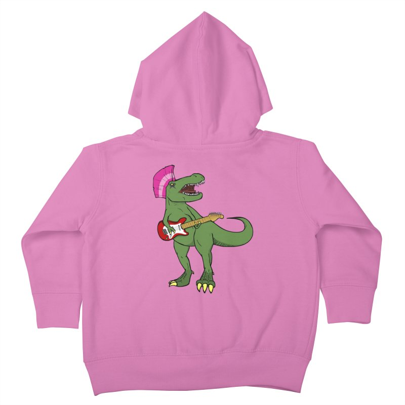 Tyrant Lizard Kids Toddler Zip-Up Hoody by Bigger Than Cheeses