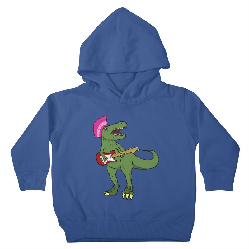 Tyrant Lizard Kids Toddler Pullover Hoody by Bigger Than Cheeses