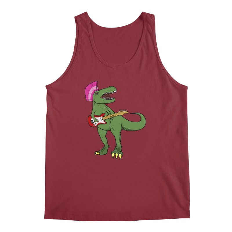 Tyrant Lizard Men's Tank by Bigger Than Cheeses