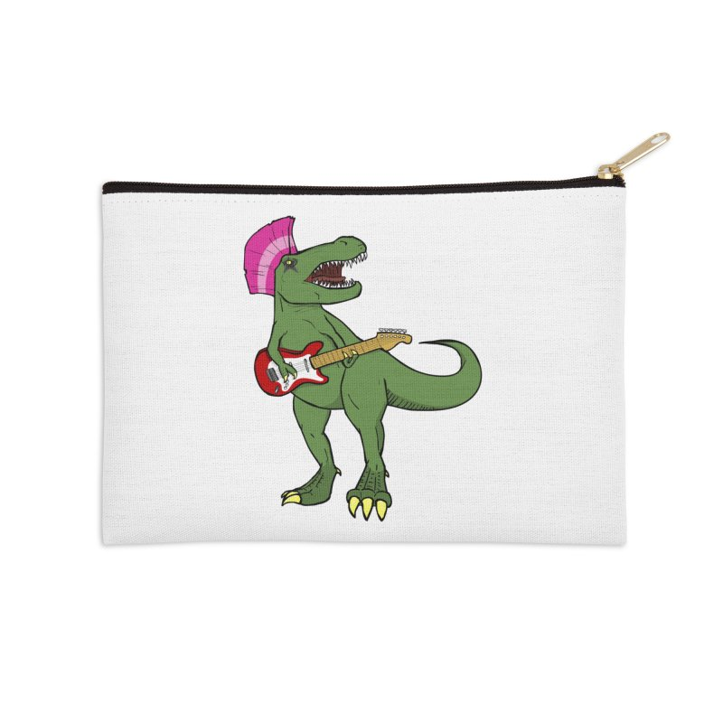 Tyrant Lizard Accessories Zip Pouch by Bigger Than Cheeses