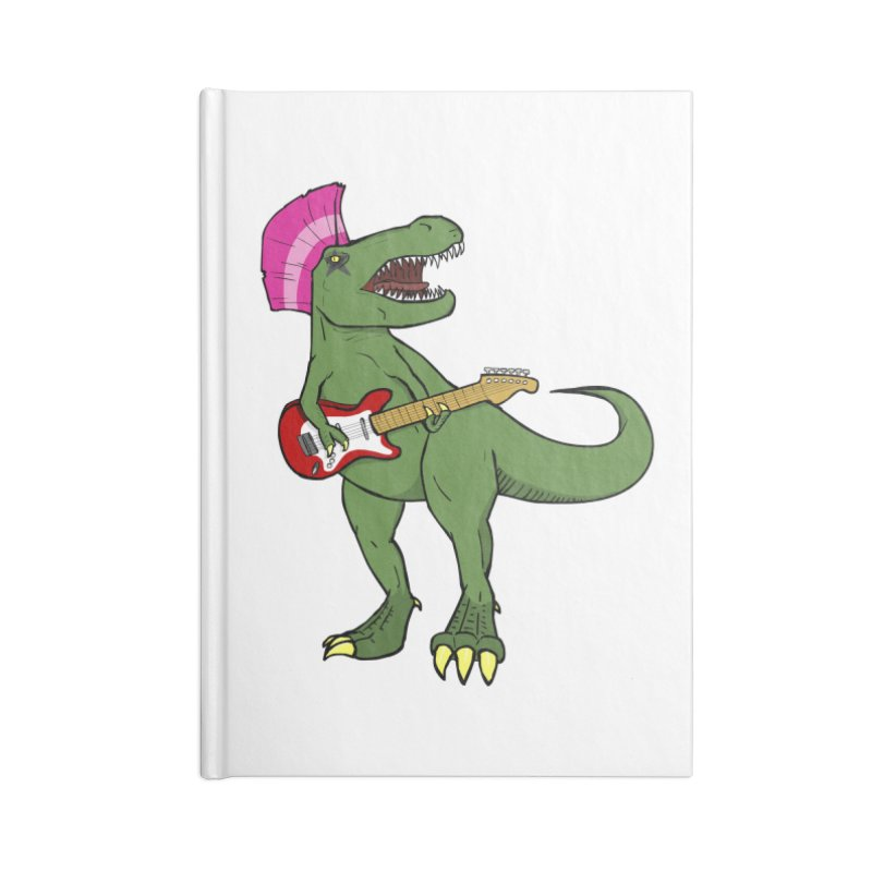 Tyrant Lizard Accessories Notebook by Bigger Than Cheeses