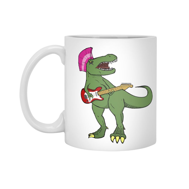 Tyrant Lizard Accessories Mug by Bigger Than Cheeses