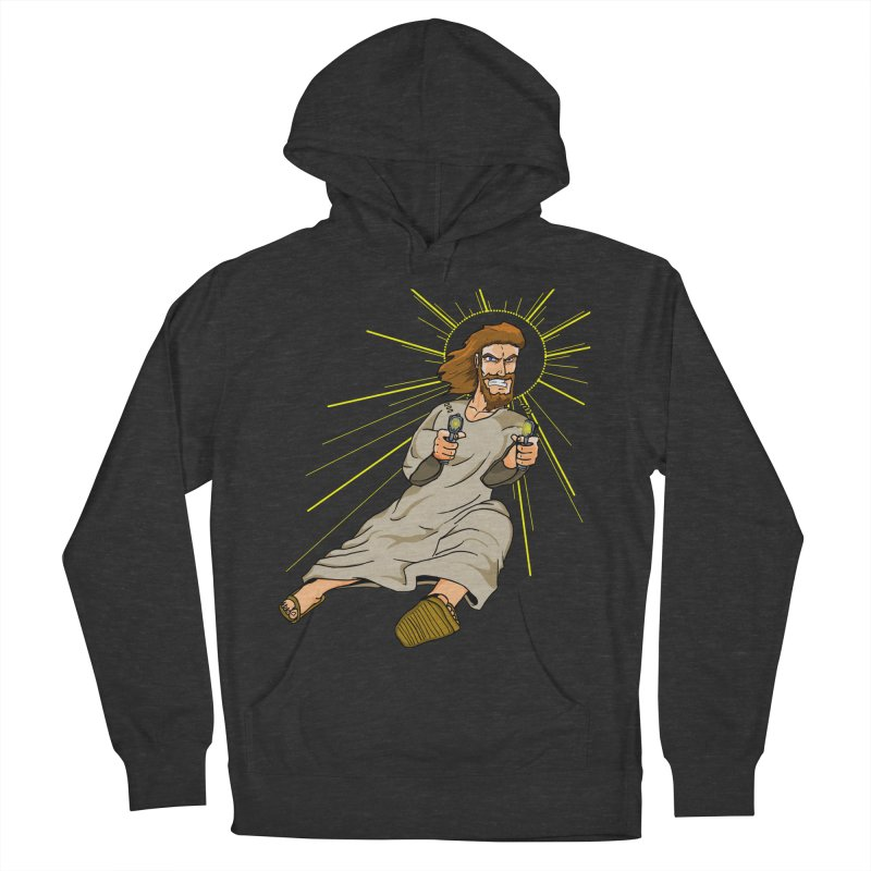 Dead or alive you're coming with me Men's French Terry Pullover Hoody by Bigger Than Cheeses