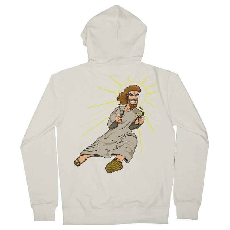 Dead or alive you're coming with me Men's Zip-Up Hoody by Bigger Than Cheeses