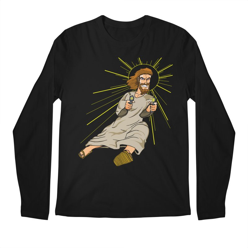 Dead or alive you're coming with me Men's Longsleeve T-Shirt by Bigger Than Cheeses