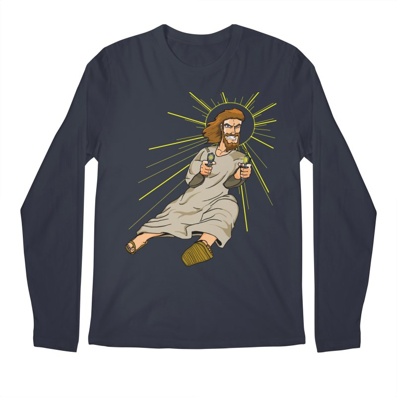Dead or alive you're coming with me Men's Regular Longsleeve T-Shirt by Bigger Than Cheeses