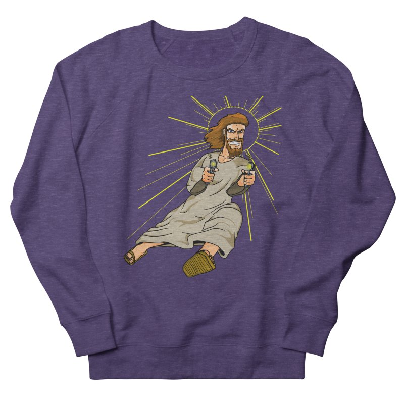 Dead or alive you're coming with me Men's French Terry Sweatshirt by Bigger Than Cheeses