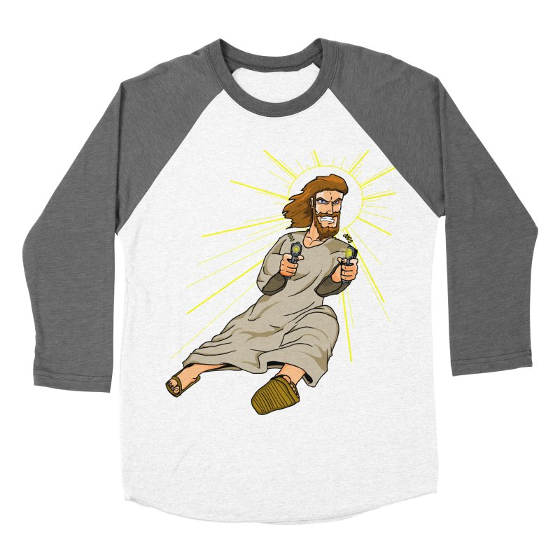 Dead or alive you're coming with me Women's Baseball Triblend Longsleeve T-Shirt by Bigger Than Cheeses