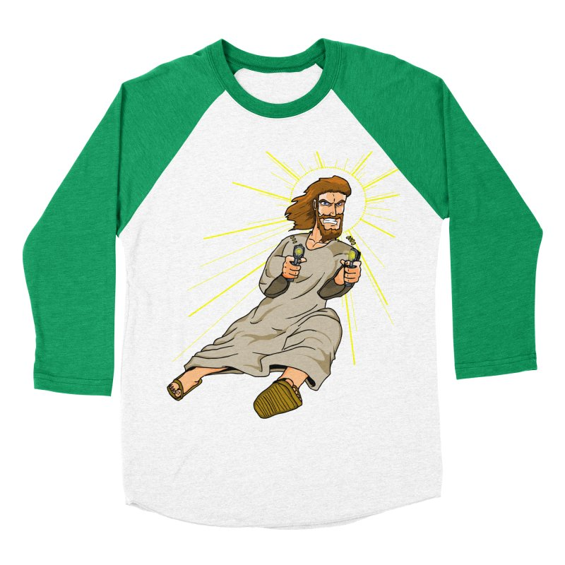 Dead or alive you're coming with me Men's Baseball Triblend Longsleeve T-Shirt by Bigger Than Cheeses