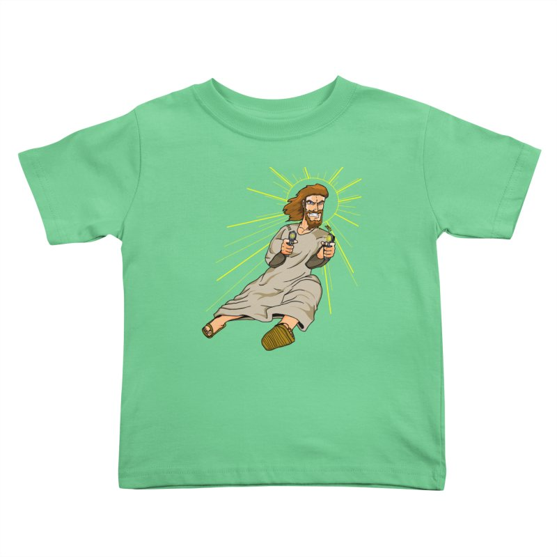 Dead or alive you're coming with me Kids Toddler T-Shirt by Bigger Than Cheeses