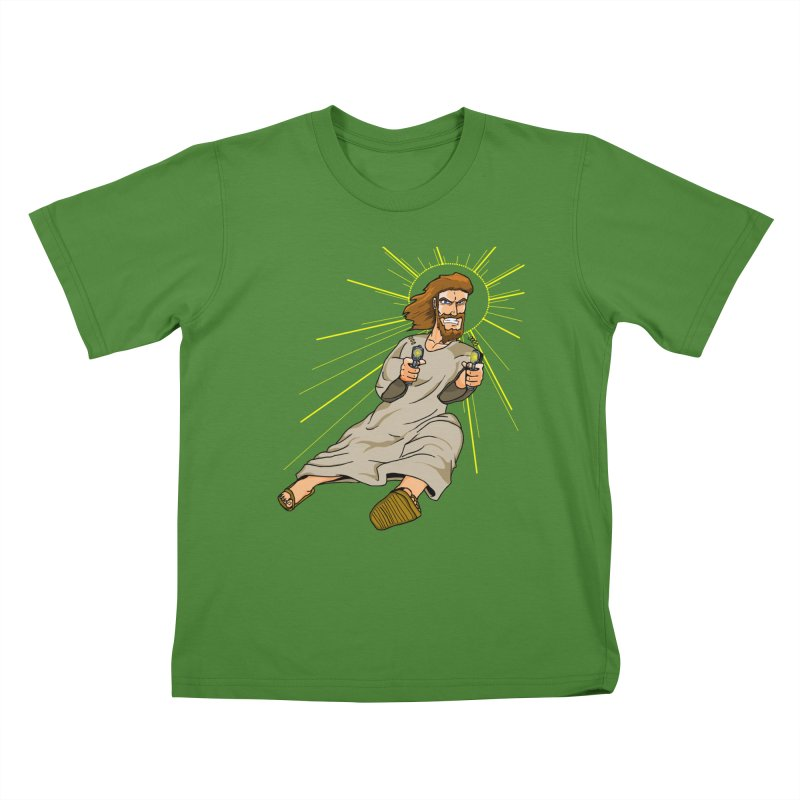 Dead or alive you're coming with me Kids T-Shirt by Bigger Than Cheeses