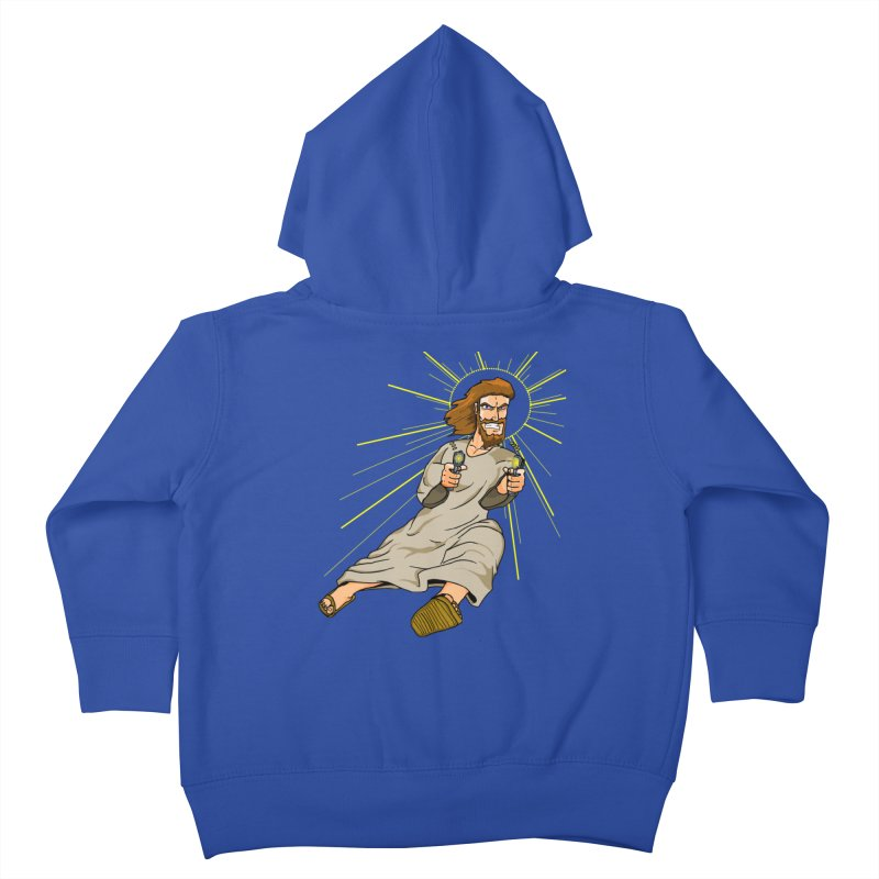 Dead or alive you're coming with me Kids Toddler Zip-Up Hoody by Bigger Than Cheeses