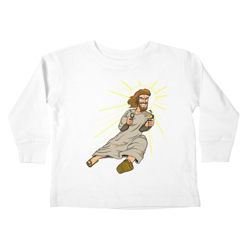Dead or alive you're coming with me Kids Toddler Longsleeve T-Shirt by Bigger Than Cheeses