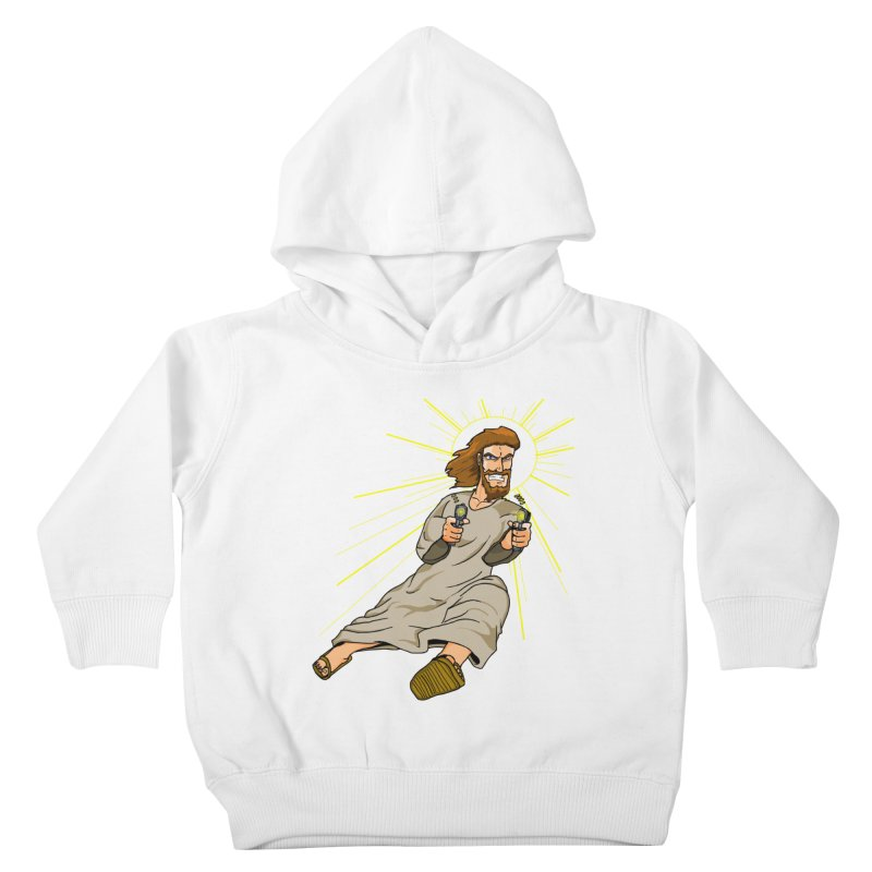 Dead or alive you're coming with me Kids Toddler Pullover Hoody by Bigger Than Cheeses