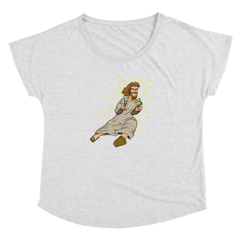 Dead or alive you're coming with me Women's Dolman by Bigger Than Cheeses