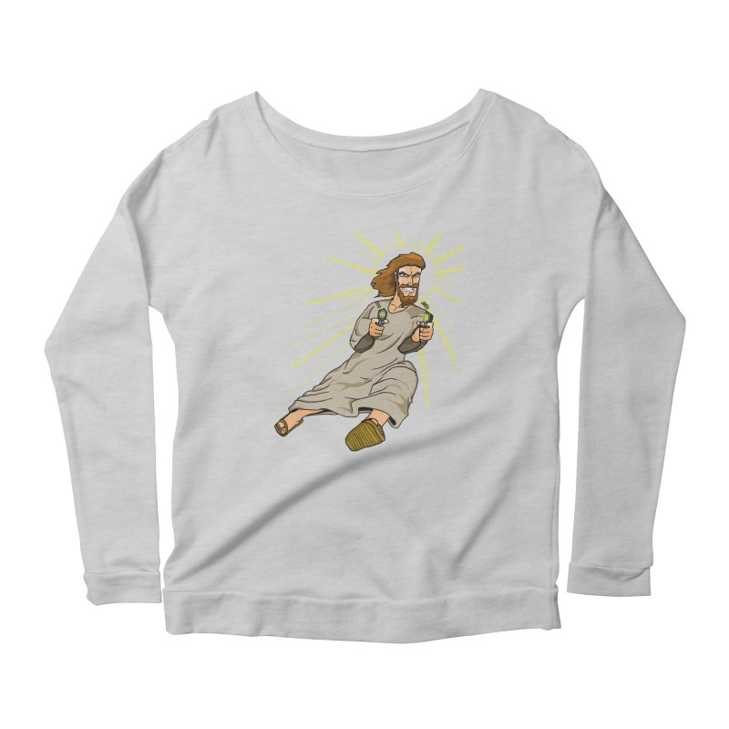 Dead or alive you're coming with me Women's Scoop Neck Longsleeve T-Shirt by Bigger Than Cheeses