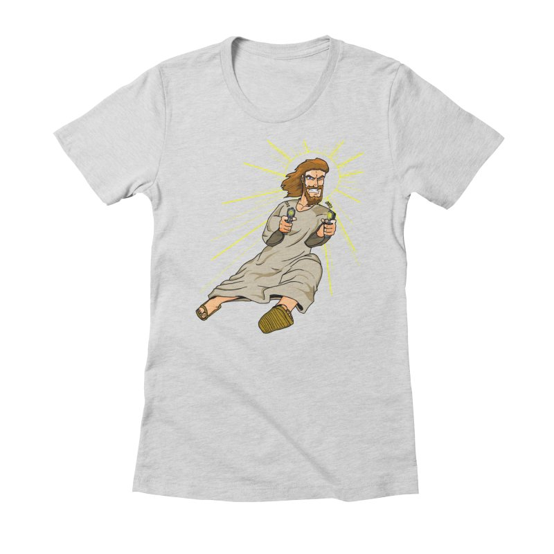 Dead or alive you're coming with me Women's Fitted T-Shirt by Bigger Than Cheeses