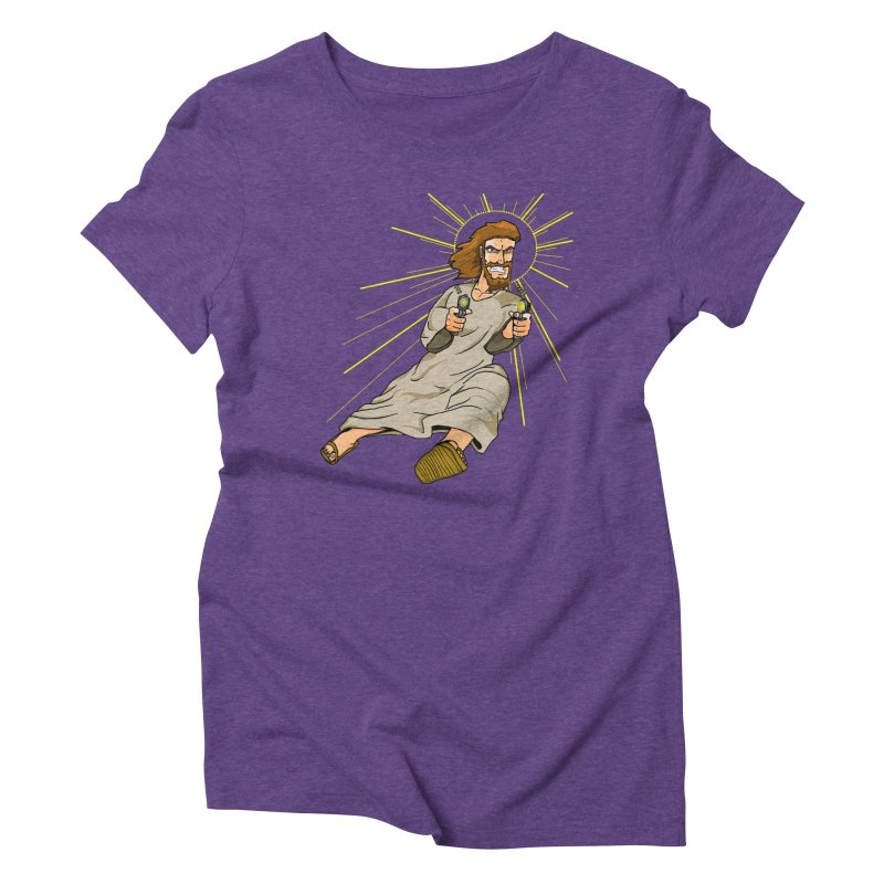 Dead or alive you're coming with me Women's Triblend T-Shirt by Bigger Than Cheeses